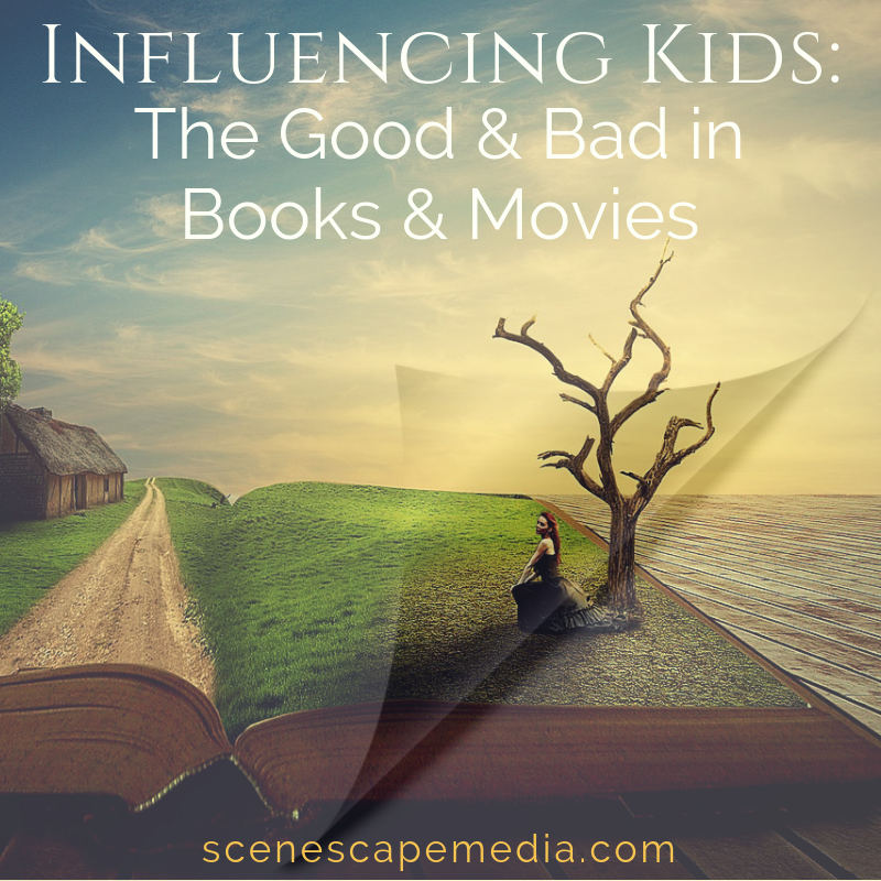 Movies and books can influence kids for good and bad, so who is responsible for making sure they are good?