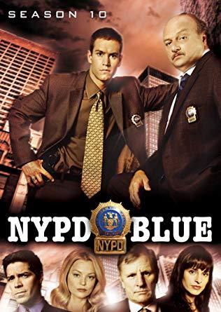 NYPD Blue Season 10 DVD on Amazon