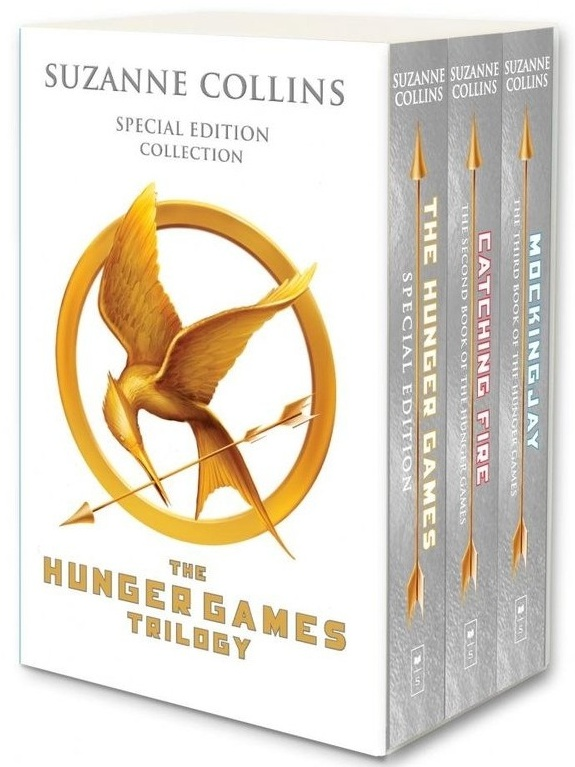 The Hunger Games by Suzanne Collins boxed set