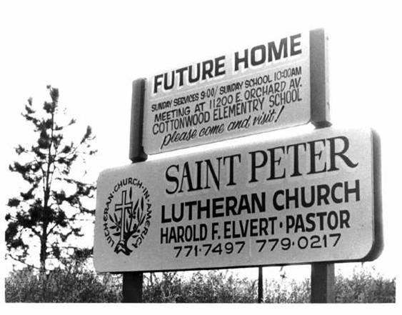 Saint Peter was organized as a church in 1981.  Read more about our history here .