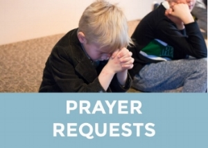 Send your prayer request to the church office for inclusion in the upcoming weekly member newsletter.