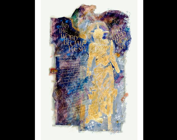 The Word Made Flesh: Saint John's Bible (Donald Jackson, artist)