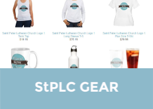 Show your Saint Peter love. Get yourself StPLC marked t-shirts, mugs, and more on  Cafe Press .