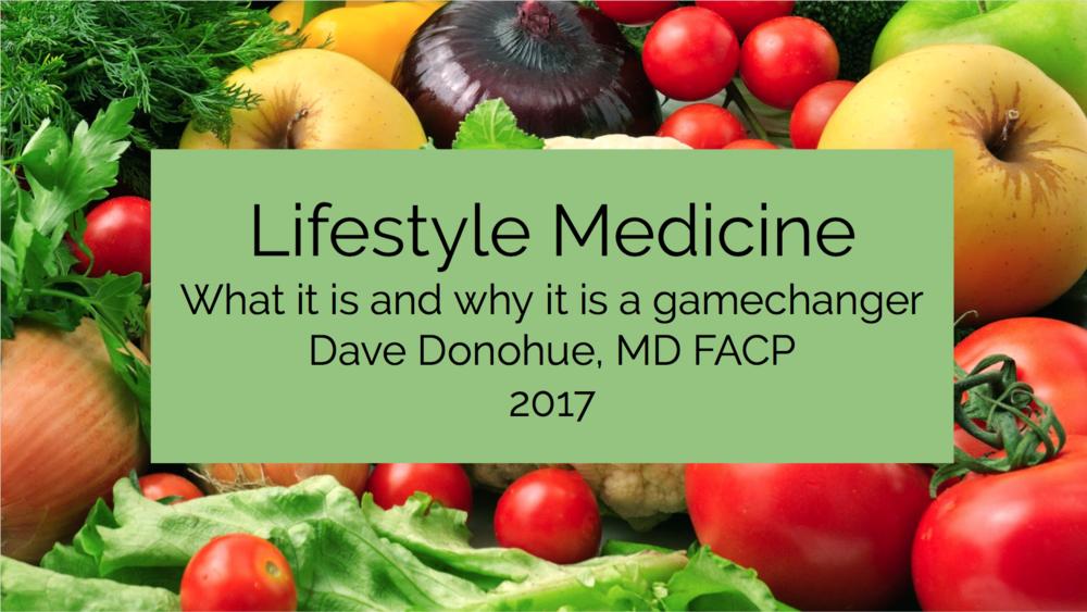 Lifestyle Medicine Slide
