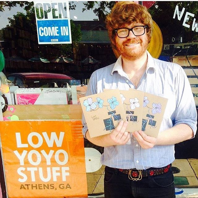 "Pick up a @curtcastlega 7"" at @lowyoyostuffathensga!"