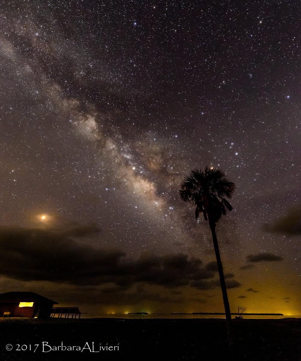 Milky Way, Flamingo, Everglades National Park