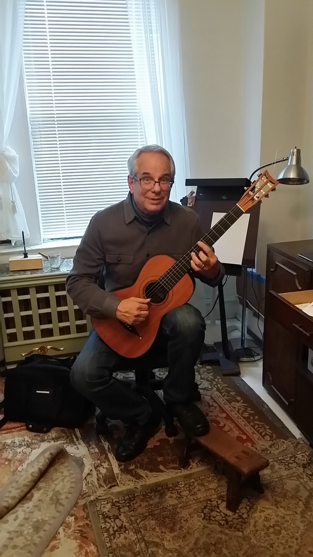Jerry Willard's 19th Century Guitar