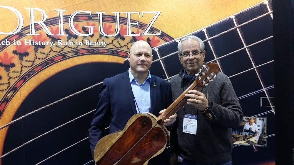Manuel Rodriguez III at NAMM 2017