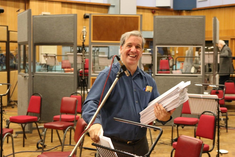 Gregg Nestor in Abby Road Studios