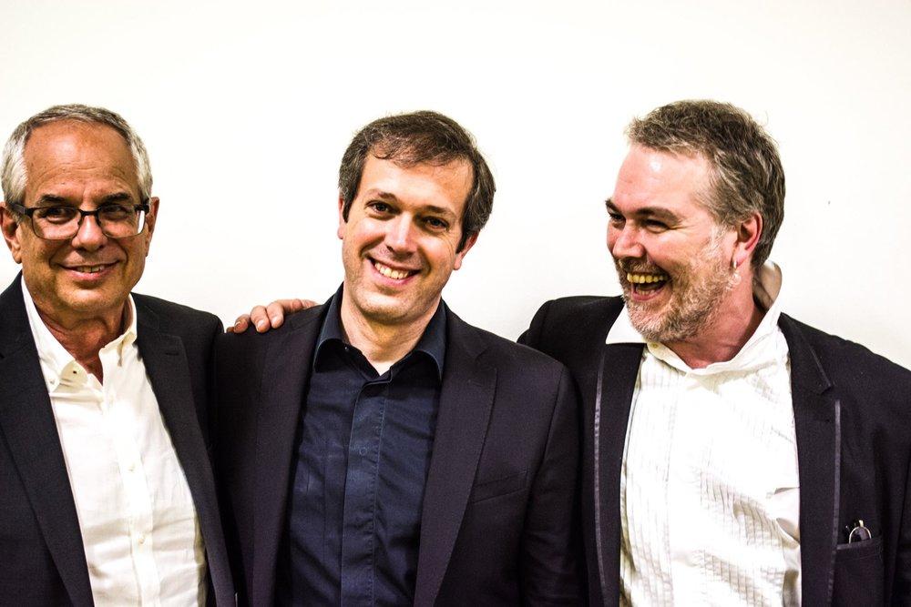 Andrea Dieci & Ben Salfield with Jeffrey