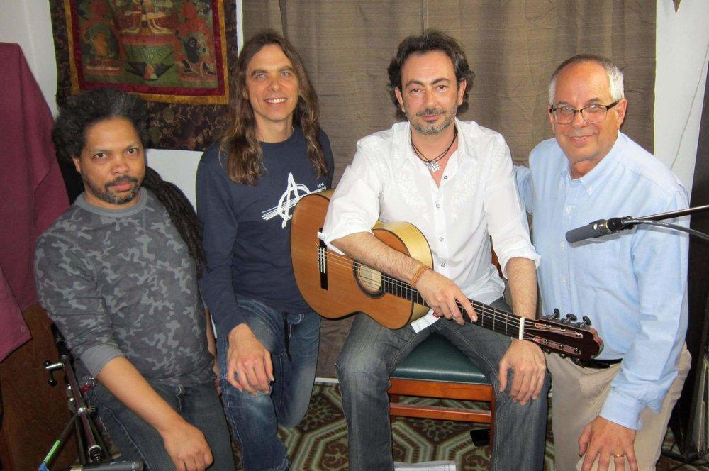 Bobby Wilks, Corey Whitehead, Jose Antionio Rodriguez with Jeffrey