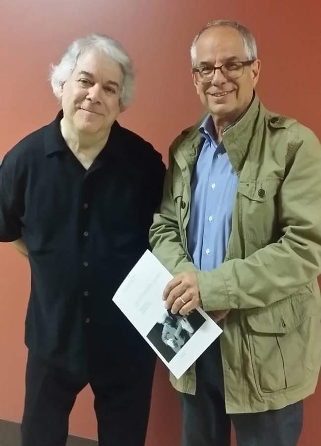 With David Starobin, at UCLA 2017