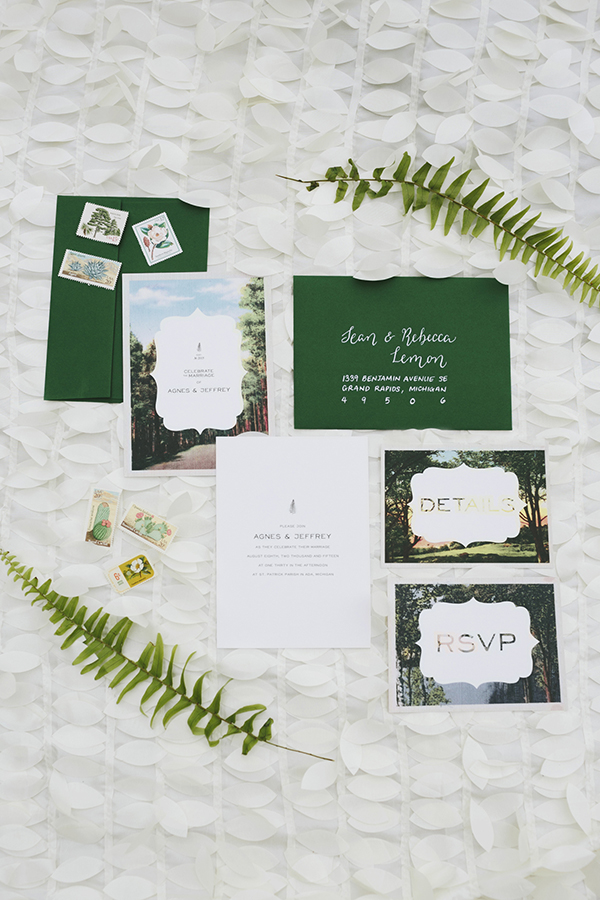 Jeff & Agnes: A Moss-Filled Wedding, RuffledBlog