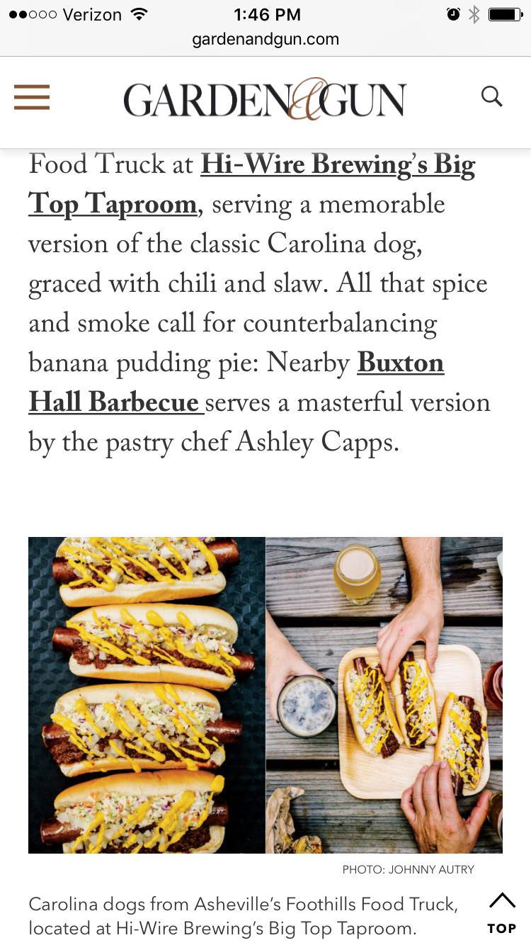 Foothills Meats Highlighted in Garden & Gun Magazine — Foothills Meats