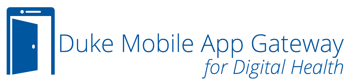 Duke Mobile App Gateway