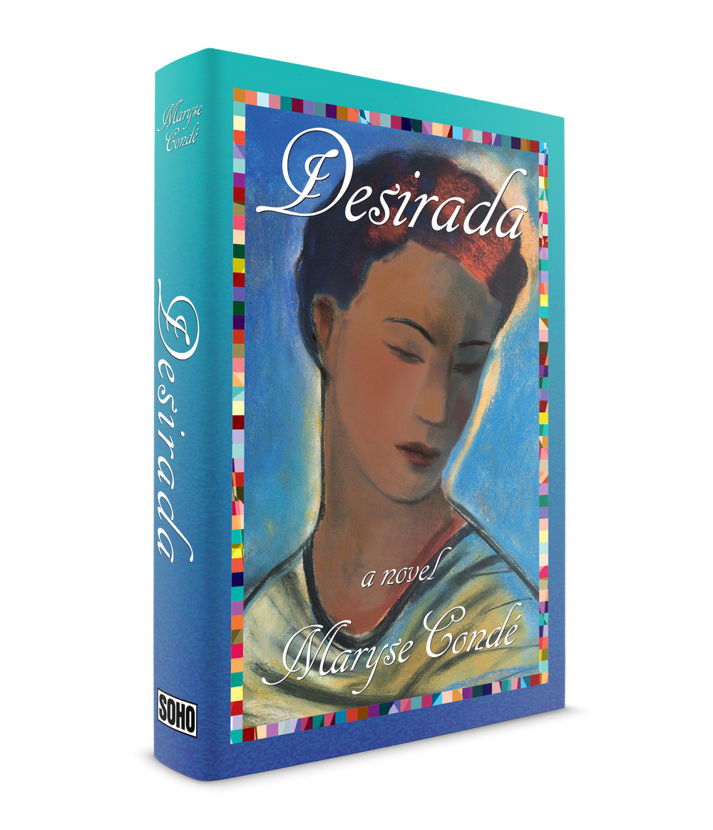 Desirada, novel, published by Soho Press. Illustration by the great,  Vivienne Flesher . Typeface is Cancellaresca script.