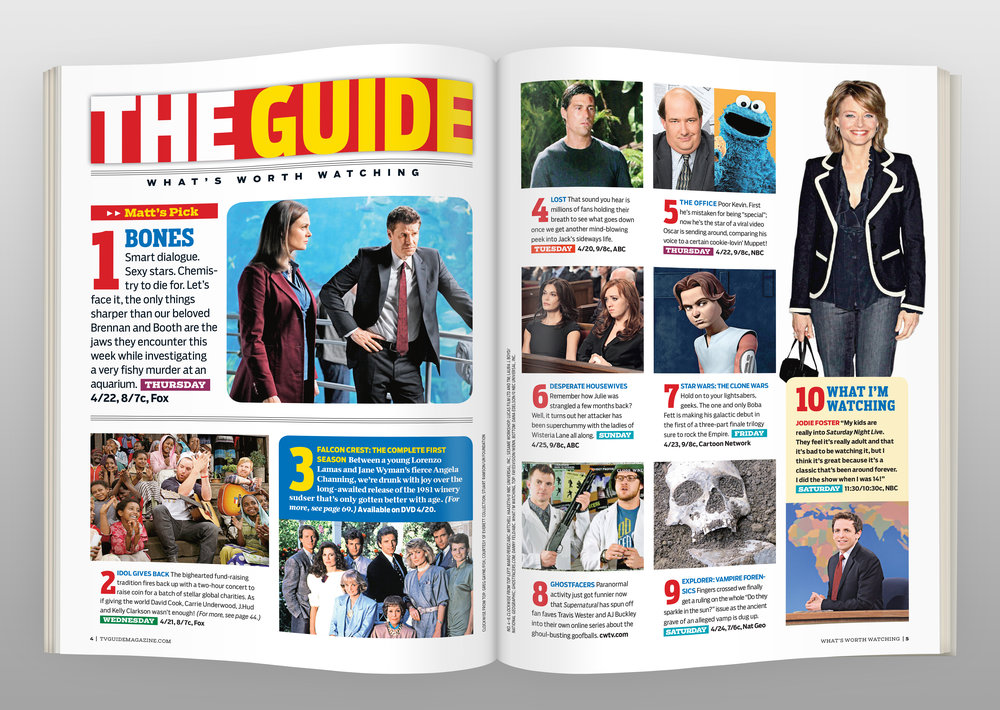 TV Guide redesign