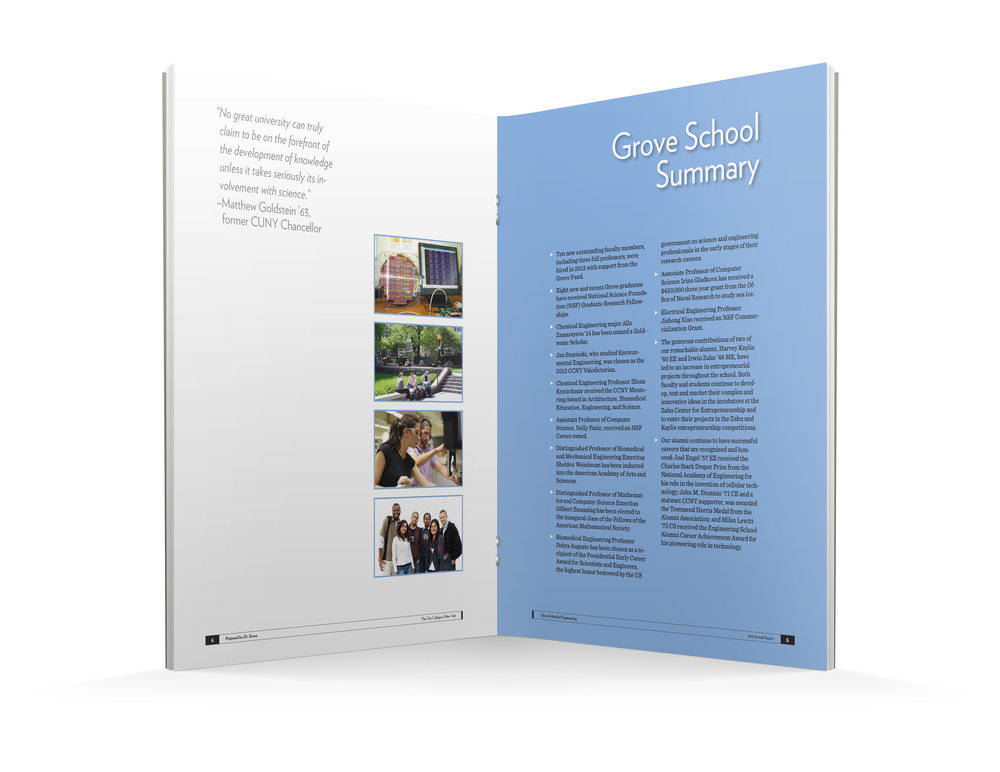 Grove School of Engineering Annual Report, City College of New York