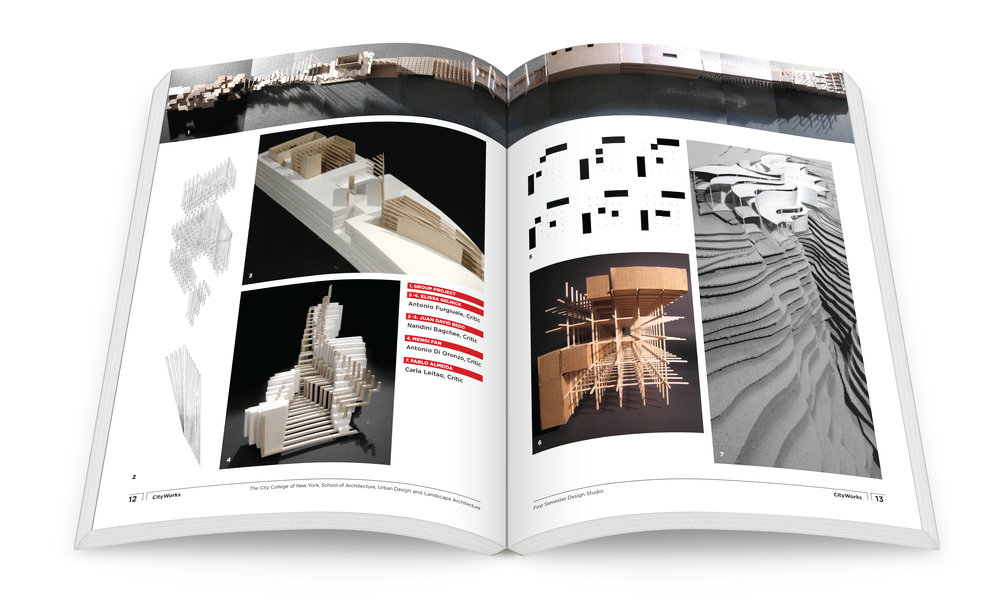 Spitzer School of Architecture City Works, Student Projects, City College of New York