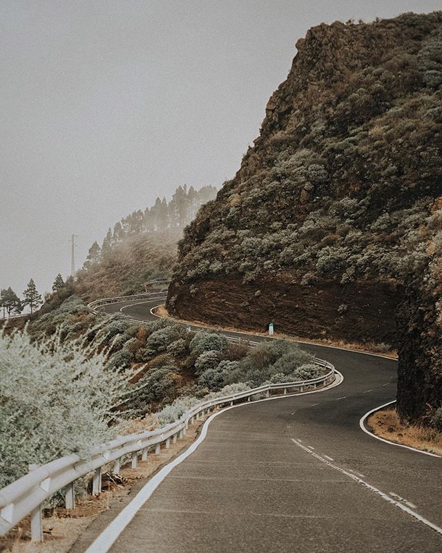 Dreamy roads of the mountainous part of Gran Canaria. 😍 #schnidersgotocanarias . . . . .  #VisualsOfLife #vzcomood #MoodyGrams #outfitgrid #exklusive_shot #folkcreative #peoplescreatives #misty #streetmobs #sombresociety #quietthechaos #sombrescapes #main_vision #mist_vision #roamtheplanet #gottalove_a_ #shotzdelight  #canaries #canaryislands #visitspain #icu_spain #ok_spain #olympuscamera #olympusstreetphoto #swееtnоvеmbеr #wintercancоme #getolympus #ilove_simplebeyond