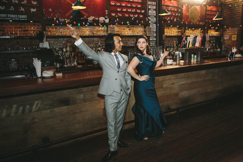 LAUREN + JASON - PURPLE RAIN INSPIRED BROOKLYN BOWL WEDDING ⚡ A