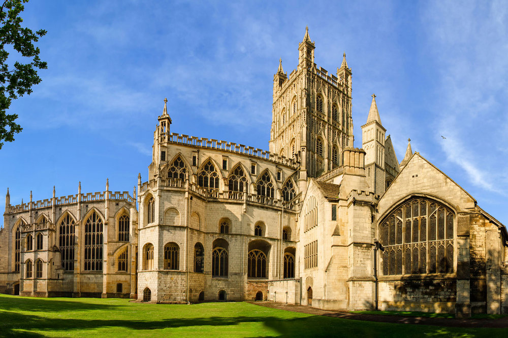 photo of Gloucester Cathedral Gloucestershire