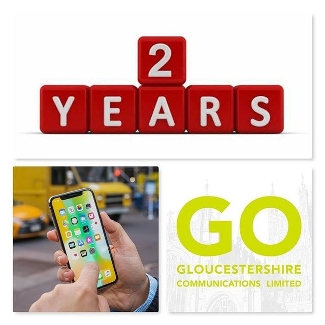 All of our business mobiles now come with a second years free warranty!  So you can have peace of mind that you are in good hands whilst in your contract.  Please contact Go Gloucestershire Communications Ltd direct for more information. You can also call us on 01452 238866 or email Michael.stanley@gogloscomms.co.uk  Please read here for more information    https://lnkd.in/gxU2Tdi  Go Gloucestershire Communications Ltd  #communication #bigdata #iphone #apple #samsung #android #lbnrg #o2