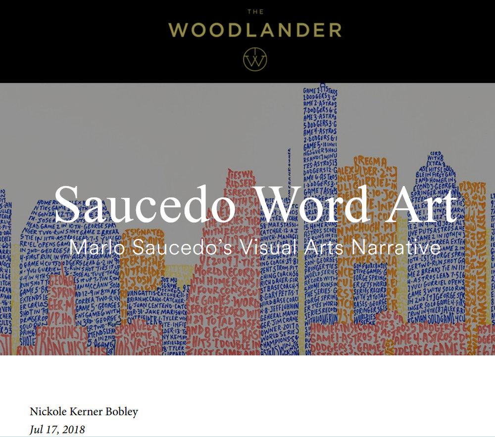 2018: The Woodlander-Marlo Saucedo