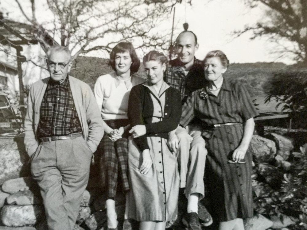 GK, Nan, Tash, Lal & Granny Lis at R&BT