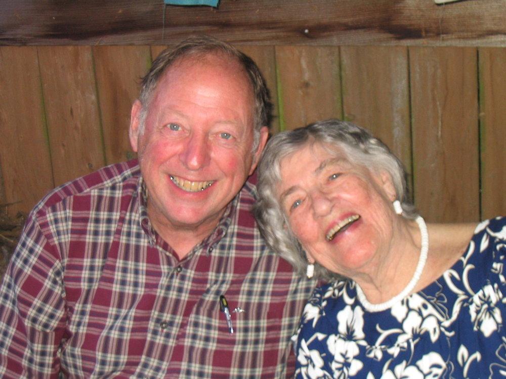 Clarke & Tashie, June 2004