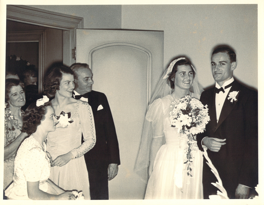 Granny Lisa, Tash, Gpa Kirk, Pat & Lal at their wedding