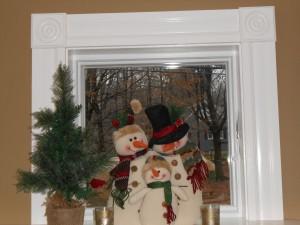 snowmen inside