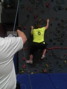 Linda climb 1