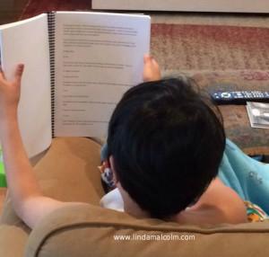 Liam reading 2