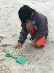 Will at beach