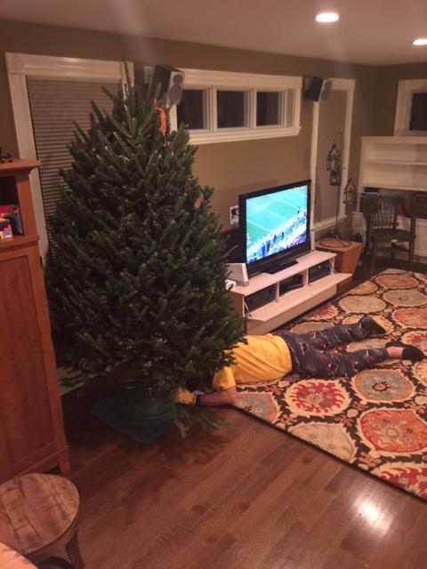 Ian under tree 1