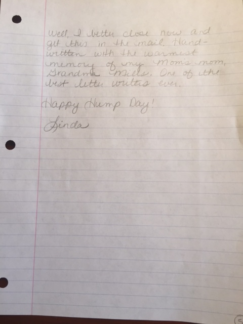 Letter page 6