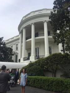 DC south lawn WH entrance