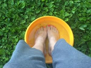 feet in Iowa