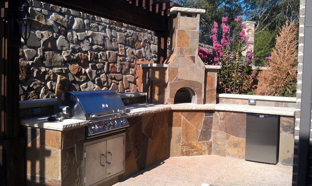 BMR Pool and Patio grill outdoor stone.jpg