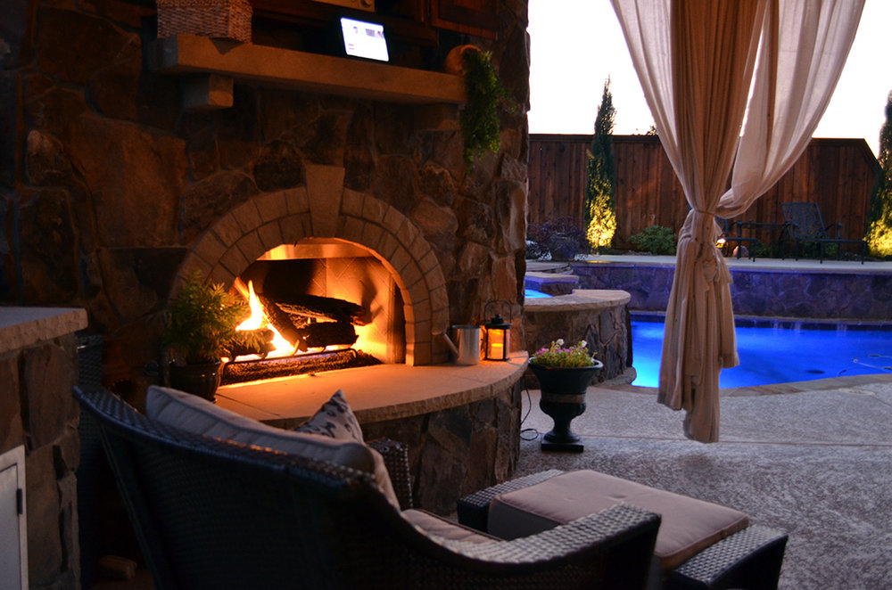 BMR pool and patio outdoor living fireplace.jpg
