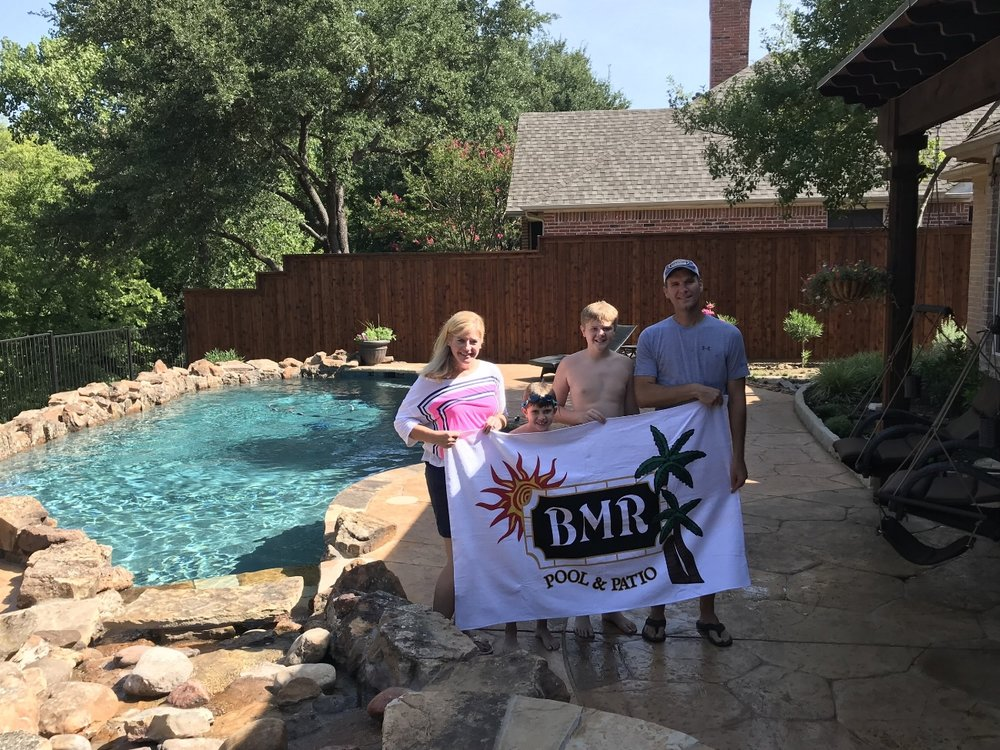 Towels BMR Pool Patio
