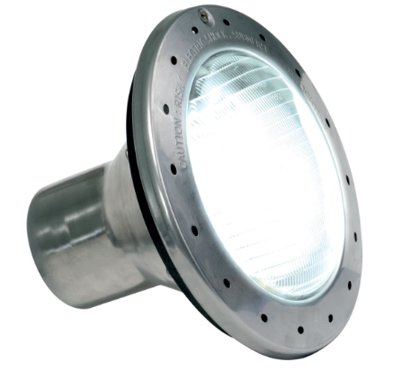 WHITE INCANDESCENT POOL AND SPA LIGHTS - Light up the night with Jandy Pro Series White pool and spa lights