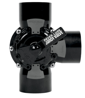 NEVER LUBE® VALVES - The Never Lube Valve is completely maintenance-free and built from the toughest CPVC material.