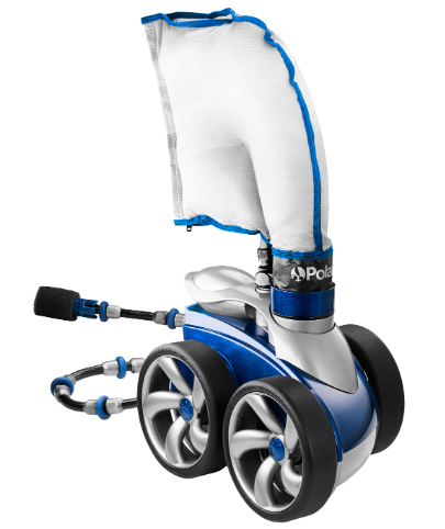 POLARIS VAC-SWEEP® 3900 SPORT - The Polaris 3900 Sport delivers unmatched pool vacuum power, incomparable convenience, and legendary performance.