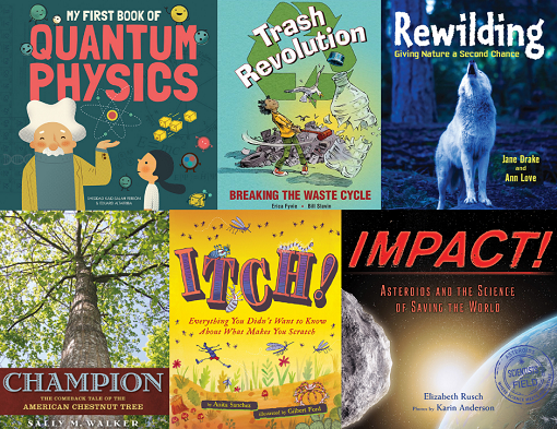 Finalists for 2019 Middle Grades Science Book Award