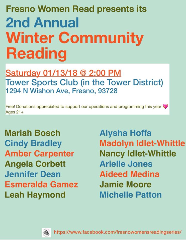 Via Fresno Women's Reading Series