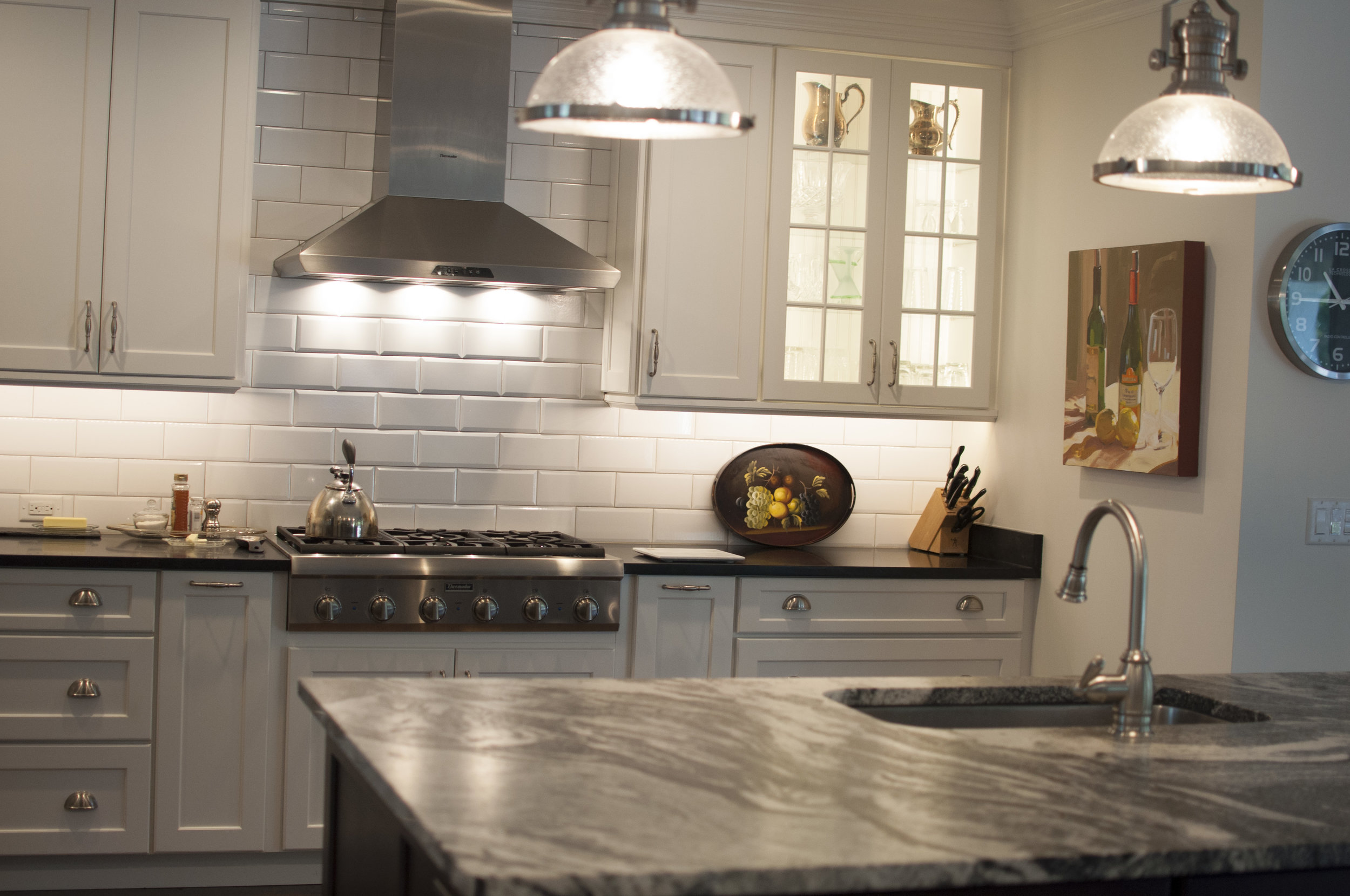 traditional kitchen home theory design
