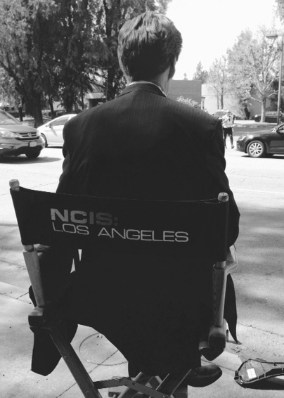 behind scenes; NCIS LA ks:cast chair.jpg