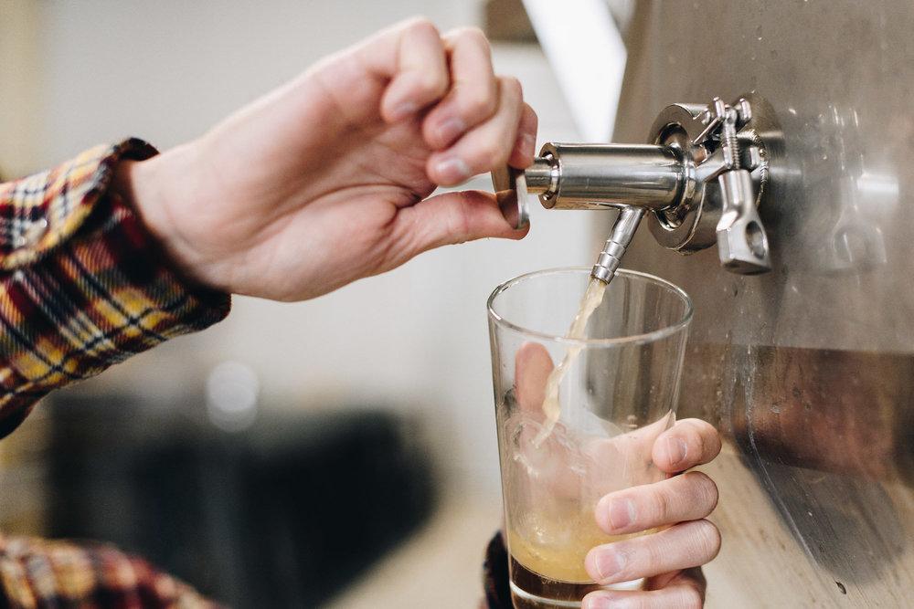 Find our cider -